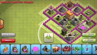 getlinkyoutube.com-Villaggio per municipio livello 6 clash of clans