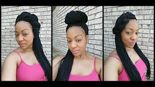 getlinkyoutube.com-How to style Senegalese Twists - 5 Ways