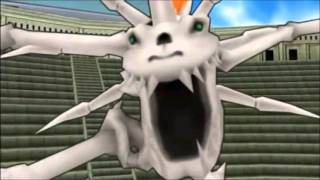 getlinkyoutube.com-All Digivolution [PSP Digimon Adventure 01]