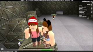Roblox Survive Slender Man Episode 3 : SCREAM (WARNING HEADPHONE USERS))