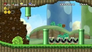 getlinkyoutube.com-Newer Super Mario Bros. Wii - World B