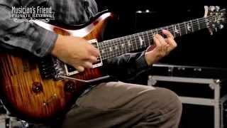"""PRS Custom 24 """"Floyd"""" Figured Maple 10 Top Electric Guitar, Ebony Fretboard"""
