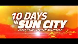 10 days in sun city with AY and MARCY JOHNSON