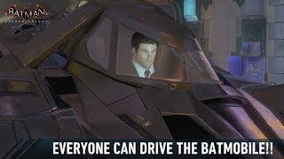 getlinkyoutube.com-FR MOD; Batman; Arkham Knight; Accessing The Batmobile