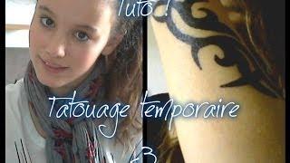 getlinkyoutube.com-Tuto #1 : Faire son tatouage temporaire avec Miya !