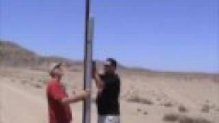 L950 PVC Sugar Kno3 Rocket