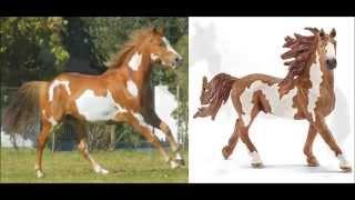 Figurki koni Schleich w realnym życiu
