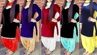 Top velvet Punjabi Suit Designs 2018 || Latest Salwar Kameez Design|| Latest Punjabi Suit Design