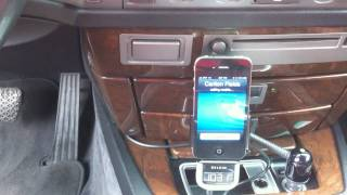 getlinkyoutube.com-BMW AM/FM Tuner Mod for iPhone with auto switch