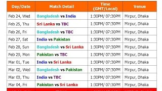 getlinkyoutube.com-Asia Cup 2016 Schedule & Full Time Table