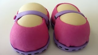 getlinkyoutube.com-Accesorios para Fofuchas - Zapatos - Manualidades para todos