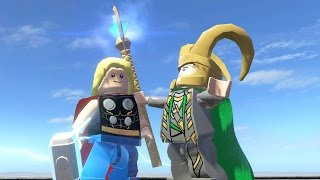getlinkyoutube.com-LEGO THOR VS LOKI (Battle) - LEGO Marvel Super heroes