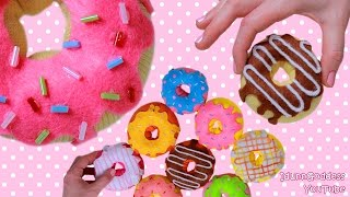 getlinkyoutube.com-How To Make Donuts Out Of Socks - 9 DIY Donuts No-sew Projects (Pillow, Stress Toy, Hand Warmers)