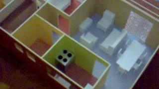 getlinkyoutube.com-Maqueta Casa Habitacion 1 Recamara 1:25