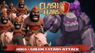getlinkyoutube.com-BEST TH8 war strategy? GOHOGS! 3 star ANY th8 base easily! Clash of Clans
