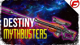 getlinkyoutube.com-Destiny MythBusters Can 1 SNIPER BULLET KILL 5 GUARDIANS at Once How Much Damage Does 1 Bullet Do