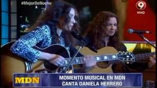 ¡Daniela Herrero en vivo!
