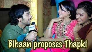 getlinkyoutube.com-Bihaan proposes Thapki
