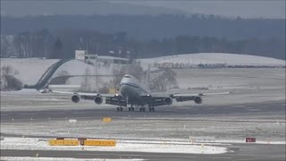getlinkyoutube.com-(With live ATC) President Xi arrives in Zurich (State visit) with Air China Boeing 747