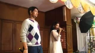 getlinkyoutube.com-Thendral vanthu ennai thodum  Airtel Super Singer SHRAVAN  PRIYANKA