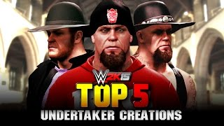 getlinkyoutube.com-WWE 2K15 - The Undertaker Top 5 Attires - Community Creations