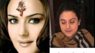 Индийские актрисы без макияжа!!
