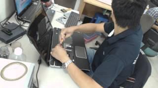 getlinkyoutube.com-Laptop Toshiba P875 lỗi chập chờn không nhận chuột bàn phím