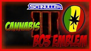 getlinkyoutube.com-Weed Logo Emblem: COD BO3 Cannabis Emblem Totorial! | By LittleSchnuller