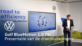 getlinkyoutube.com-Presentatie driecilindermotor Golf BlueMotion 1.0 TSI
