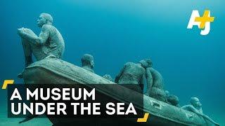 Amazing Underwater Museum Museo Atlantico