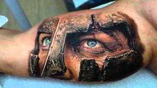 getlinkyoutube.com-Best 3D tattoos in the world HD [ Part 1 ] - Amazing 3D Tattoo Design Ideas