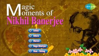 getlinkyoutube.com-Magic Moments of Pandit Nikhil Banerjee | Hindustani Classical Instrumental Audio Jukebox | Sitar