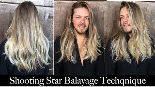 getlinkyoutube.com-Shooting Star Balayage Technique