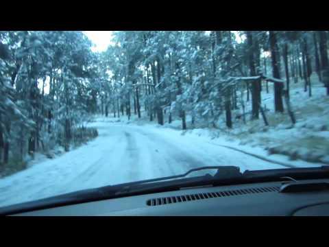 Camino a Paso de Cortés