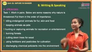 getlinkyoutube.com-Đề thi Anh văn lớp 11 - Unit 10. Nature In Danger - Speaking And Writing