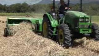 getlinkyoutube.com-Hay making with John Deere