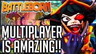getlinkyoutube.com-Battleborn Gameplay - Multiplayer Part 1 - SO. FREAKING. FUN!! (PC/PS4/XB1 1080p 60fps HD)