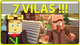 getlinkyoutube.com-Minecraft PE 0.14.0 : SEED ÓTIMA COM 7 VILAS DO SEU LADO !!! (Semente)
