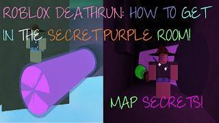 getlinkyoutube.com-ROBLOX Deathrun: Get in Secret Purple Goo Room! + 2 IN 1 SECRET ROOMS