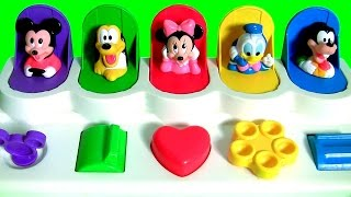 getlinkyoutube.com-Disney Baby Mickey Mouse Clubhouse Pop Up Pals Surprise with Minnie Goofy Pluto Donald