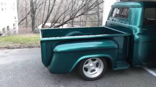 getlinkyoutube.com-Hot Rod: 1955 Chevy/GMC Short-bed Pickup