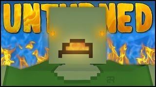 getlinkyoutube.com-GIANT FIRE BREATHING ZOMBIE! (Unturned Boss Battles)