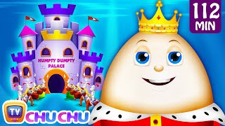getlinkyoutube.com-Humpty Dumpty Sat On A Wall and Many More Nursery Rhymes for Children | Kids Songs by ChuChu TV