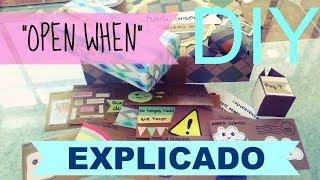 """getlinkyoutube.com-DIY ❤ Cartas """"Ábrela Cuando"""" EXPLICADO ❤ """"OPEN WHEN"""" ❤ Detalles para tu novio ❤"""