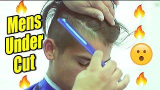 getlinkyoutube.com-✂ Under Cut | Comb Over | Scissor Work | Razor Line Up | Tutorial | Corte de pelo | Kv7