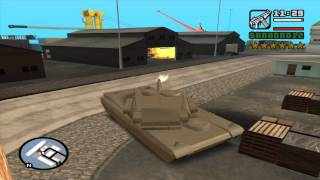 GTA san andreas stories - Missione # 14 - Get a rhino