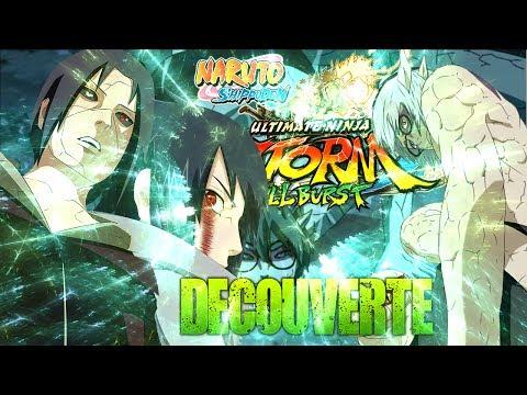 Naruto Storm 3   Découverte Full Burst   Itachi & Sasuke VS Kabuto Sennin !