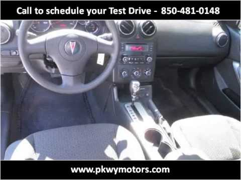 2009 Pontiac G6 Used Cars Panama City FL