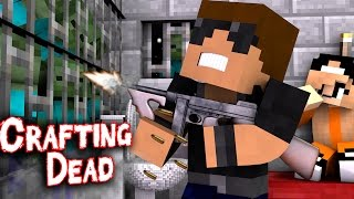 "The Prison | Crafting Dead [S1: Ep.7] ""Minecraft Roleplay"""