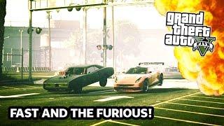 getlinkyoutube.com-GTA 5 Online FAST AND THE FURIOUS Special! GTA 5 Stunts, Jumps & EPIC Racing! (GTA 5 PS4 Gameplay)